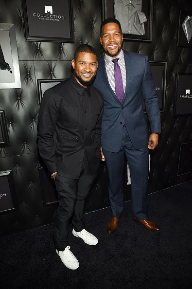 Usher - Singer「JCPenney and Michael Strahan Launch Collection by Michael Strahan」:写真・画像(19)[壁紙.com]