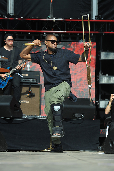 Usher - Singer「Global Citizen 2015 Earth Day On National Mall To End Extreme Poverty And Solve Climate Change - Show」:写真・画像(3)[壁紙.com]