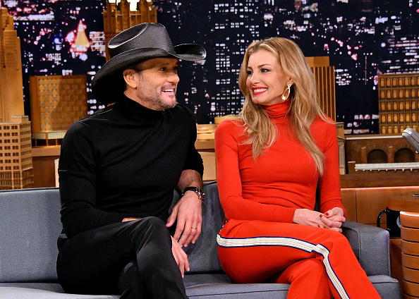 "Tim McGraw「Tim McGraw & Faith Hill Visit ""The Tonight Show Starring Jimmy Fallon""」:写真・画像(3)[壁紙.com]"