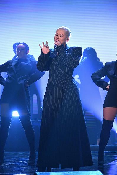 クリスティーナ・アギレラ「Christina Aguilera Visits 'The Tonight Show Starring Jimmy Fallon'」:写真・画像(18)[壁紙.com]