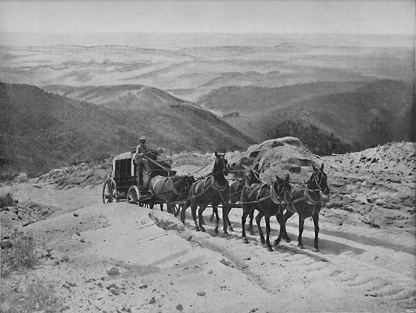 1890-1899「Crossing San Marcos Pass」:写真・画像(9)[壁紙.com]