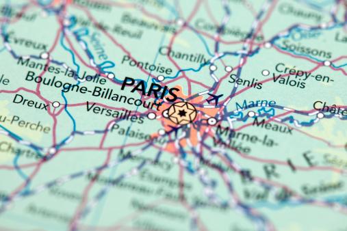 City Map「Paris, France」:スマホ壁紙(10)