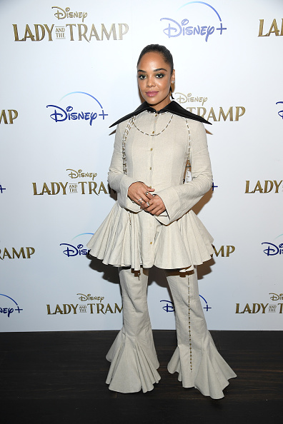 "Peplum「Cinema Society Hosts Special Screening Of Disney+'s ""Lady And The Tramp"" - Red Carpet」:写真・画像(2)[壁紙.com]"