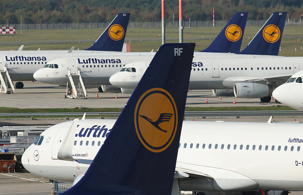 Lufthansa「Lufthansa Pilots Launch Two-Day Strike」:写真・画像(5)[壁紙.com]