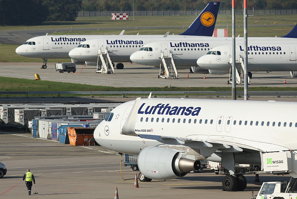 Lufthansa「Lufthansa Pilots Launch Two-Day Strike」:写真・画像(7)[壁紙.com]