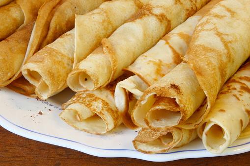 Stuffed「European style pancakes on a plate」:スマホ壁紙(7)