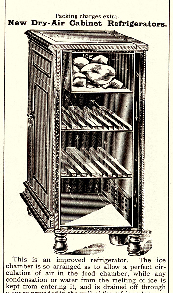 Fototeca Storica Nazionale「UNITED KINGDOM - ENGLAND 1907: Icebox, to store and keep cool foods」:写真・画像(16)[壁紙.com]