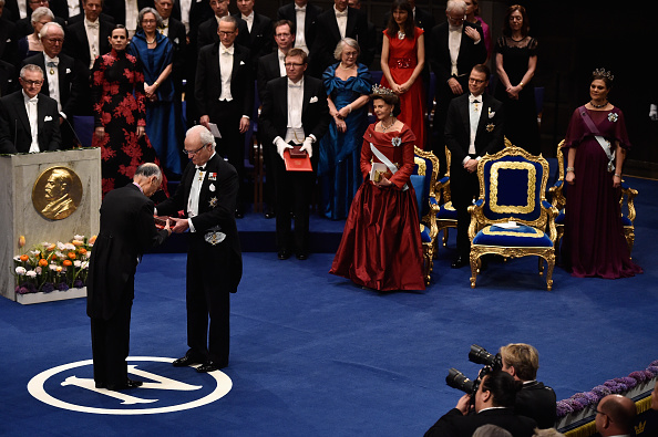 式典「The Nobel Prize Award Ceremony 2015」:写真・画像(10)[壁紙.com]