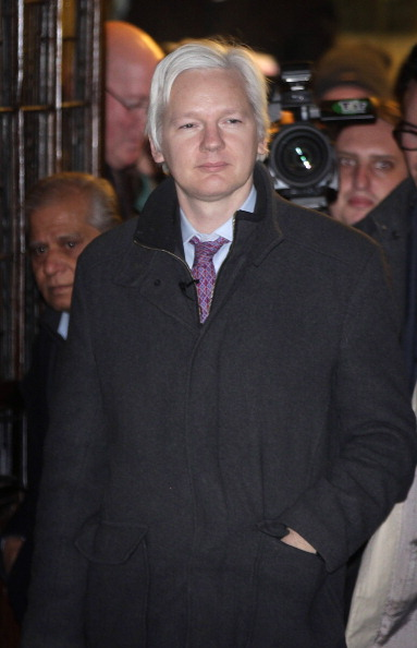 Waist Up「Wikileaks Founder Julian Assange Has His Extradition Case Heard At The Supreme Court」:写真・画像(16)[壁紙.com]