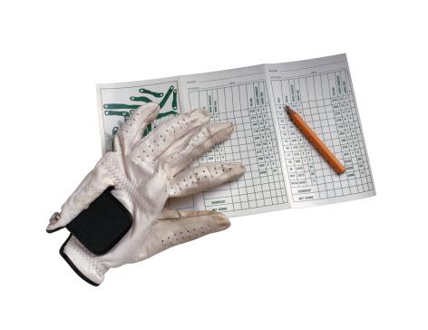 手袋「Golf Glove and Scorecard」:スマホ壁紙(8)
