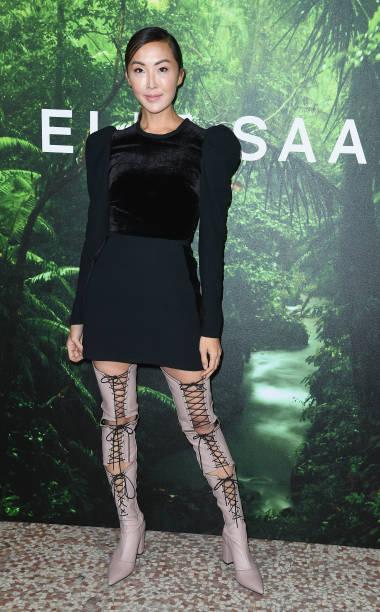 Elie Saab - Designer Label「Elie Saab : Front Row - Paris Fashion Week Womenswear Spring/Summer 2018」:写真・画像(11)[壁紙.com]
