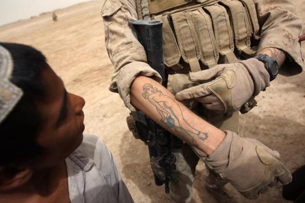 John Moore「U.S. Marines On Operations In Remote Southwest Afghanistan」:写真・画像(7)[壁紙.com]