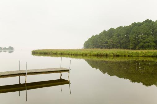 Chesapeake Bay「Dock and water」:スマホ壁紙(19)