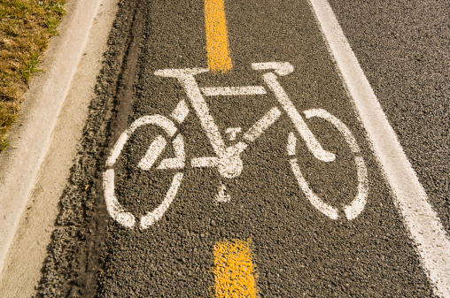 Bicycle Lane「A road with dedicated bicycle lane」:スマホ壁紙(8)