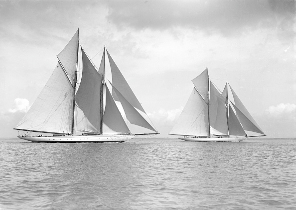 Cutting「The Magnificent Schooners Germania And Waterwitch 19」:写真・画像(15)[壁紙.com]