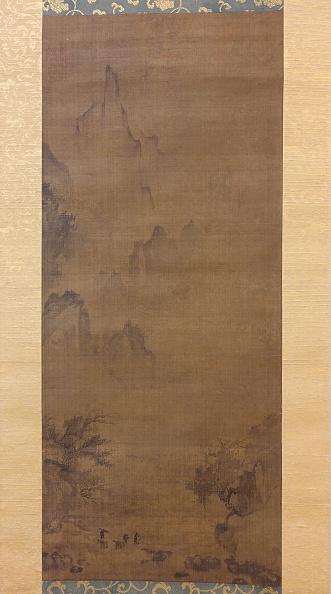 Ink「Rainy Landscape With Travelers」:写真・画像(2)[壁紙.com]
