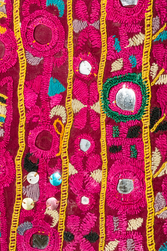 Tradition「Rajasthani textile fabric embroidery」:スマホ壁紙(11)