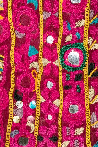 India「Rajasthani textile fabric embroidery」:スマホ壁紙(9)