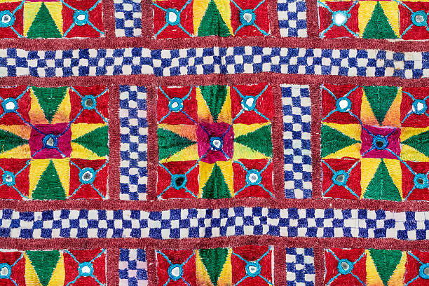 Rajasthani textile fabric embroidery:スマホ壁紙(壁紙.com)