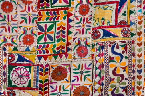 Tradition「Rajasthani textile fabric embroidery」:スマホ壁紙(18)