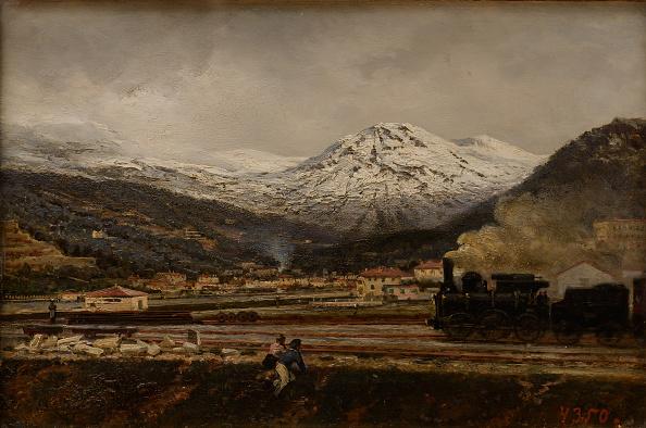 Painting - Activity「Mountain Landscape 1865」:写真・画像(6)[壁紙.com]