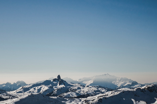 Surrounding「Mountain landscape in winter, Whistler, British Columbia, Canada」:スマホ壁紙(4)
