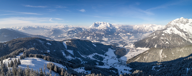 冠雪「Mountain landscape, Salzburg, Austria」:スマホ壁紙(16)