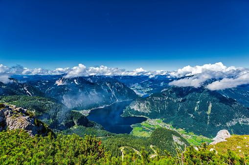 Dachstein Mountains「mountain lake (HDRi)」:スマホ壁紙(12)