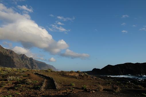Lava「Mountain landscape, Tenerife, Canary Islands, Spain」:スマホ壁紙(12)