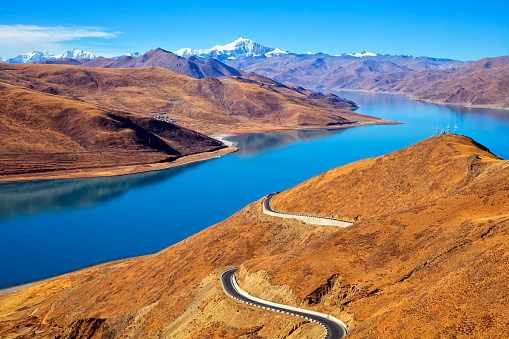 Himalayas「Mountain Lake, Himalaya, Tibet」:スマホ壁紙(1)