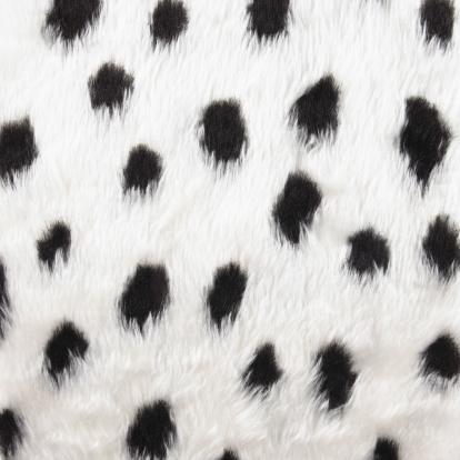 Leopard Print「Black spotted faux fur」:スマホ壁紙(16)