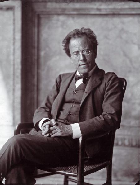Portrait「The Austrian composer Gustav Mahler. Photograph by Moriz Nähr. 1907.」:写真・画像(18)[壁紙.com]