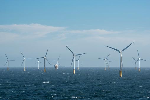 Wind Turbine「Belgium, Thorntonbank Wind Farm」:スマホ壁紙(6)