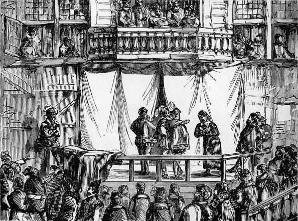 Elizabethan Style「History of British theatre: early playhouse」:写真・画像(3)[壁紙.com]
