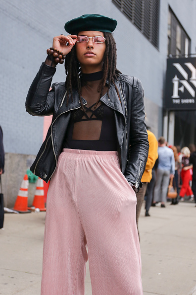 Achim Aaron Harding「Street Style - New York Fashion Week September 2018 - Day 4」:写真・画像(7)[壁紙.com]