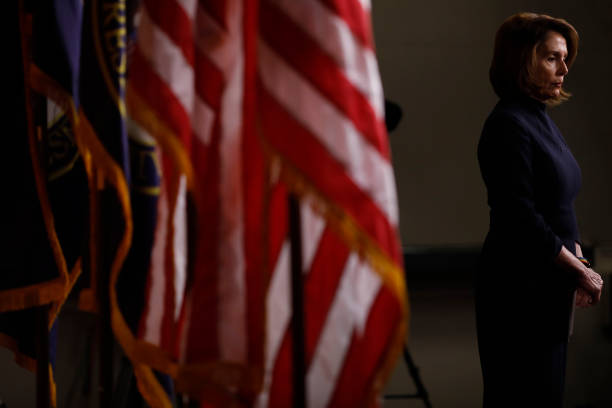 House Minority Leader Nancy Pelosi Holds Weekly News Conference:ニュース(壁紙.com)