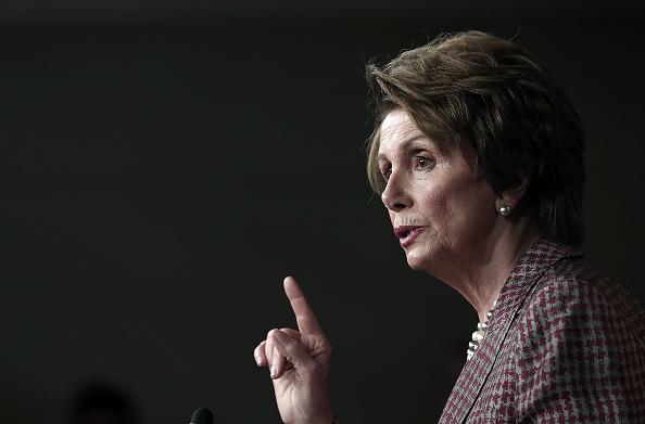Win McNamee「Nancy Pelosi Holds Weekly Press Briefing」:写真・画像(4)[壁紙.com]