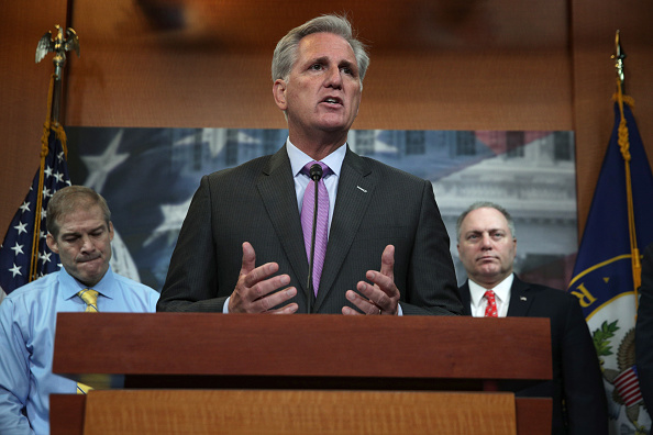 Leadership「House Republican Leadership Holds Press Conference Day After Impeachment Inquiry Is Announced」:写真・画像(12)[壁紙.com]