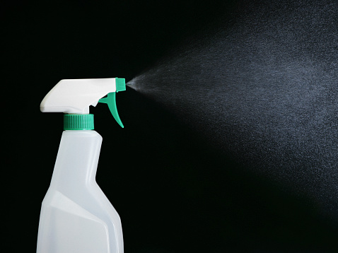 Spray Bottle「Spray bottle spraying mist」:スマホ壁紙(18)