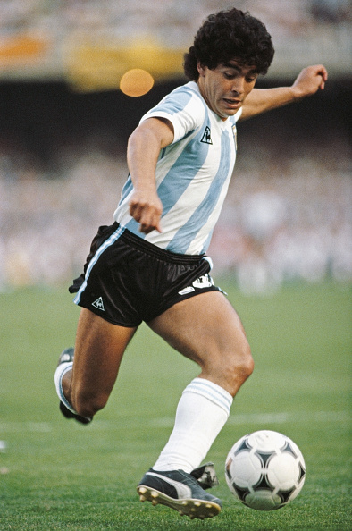 Athlete「Diego Maradona Argentina 1985」:写真・画像(12)[壁紙.com]