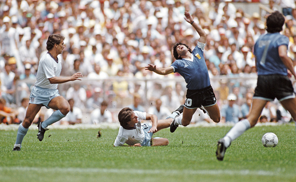 England「1986 FIFA World Cup Quarter Final Argentina v England」:写真・画像(2)[壁紙.com]