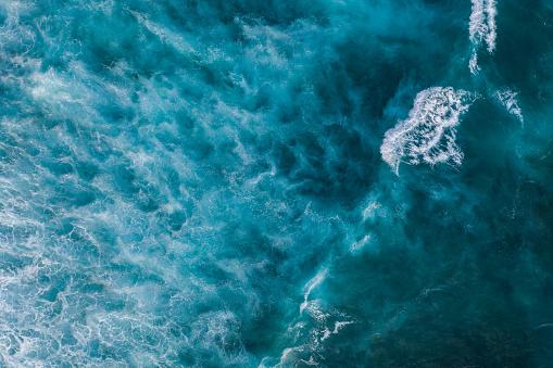 Water Surface「Ocean surf from above」:スマホ壁紙(11)