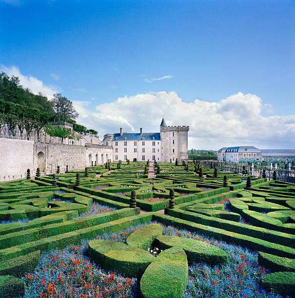 France, Villandry, Caen, castle and baroque French garden:スマホ壁紙(壁紙.com)