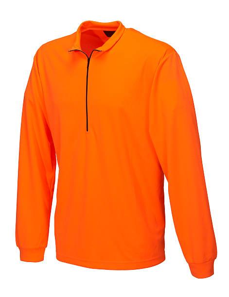 Orange shirt on white background:スマホ壁紙(壁紙.com)