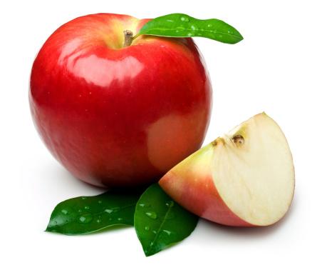 リンゴ「自然のアップル」:スマホ壁紙(8)