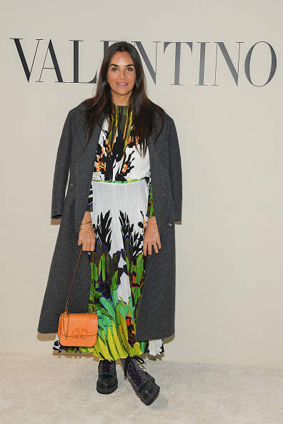 Tropical Pattern「Valentino : Front Row - Paris Fashion Week Womenswear Fall/Winter 2020/2021」:写真・画像(16)[壁紙.com]