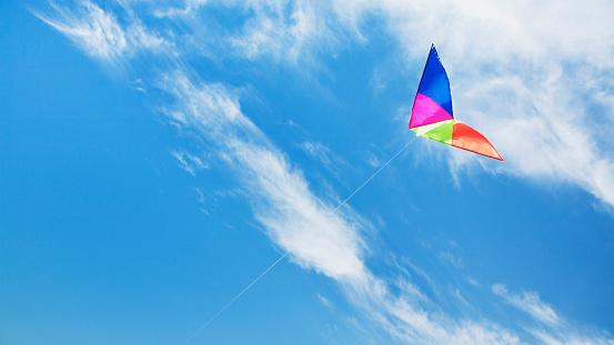 Glider「Kite against sky」:スマホ壁紙(7)