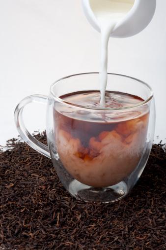 茶葉「Black tea and milk」:スマホ壁紙(5)