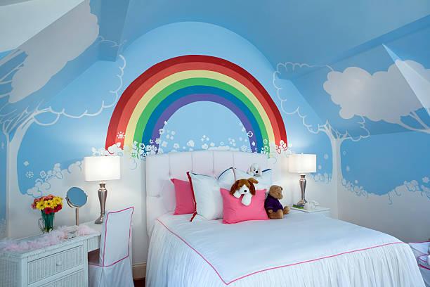 Kids room at angle.:スマホ壁紙(壁紙.com)