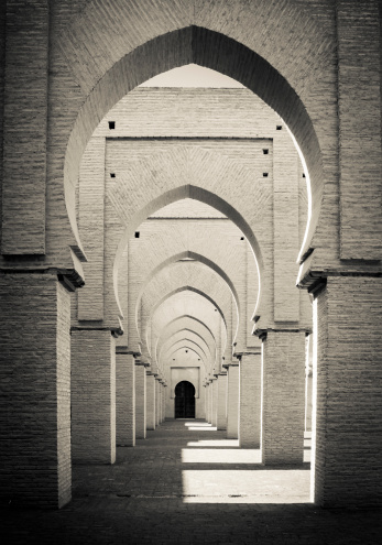 Sepia Toned「Morocco: Tin Mal mosque」:スマホ壁紙(18)
